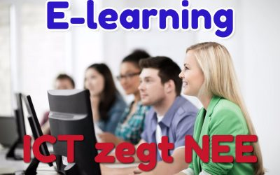 E-learning: in de clinch met ICT?