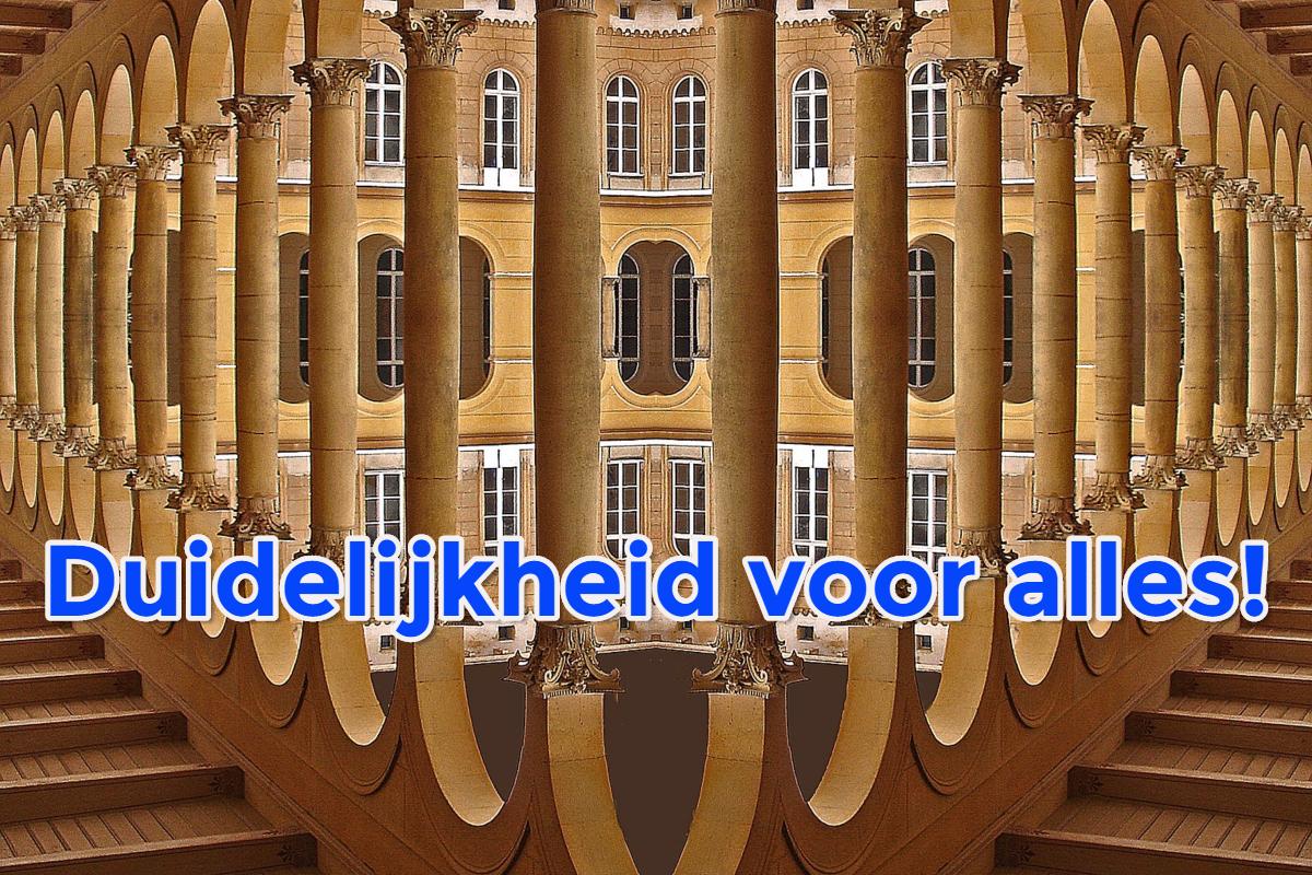duidelijkheid - geenruzieophetwerk.nl