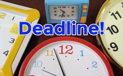 Deadline stress verandert gedrag