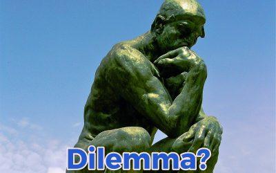 Ik wil geen dilemma!