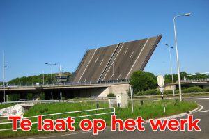 Te laat op het werk - geenruzieophetwerk.nl